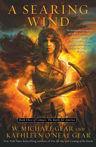 A Searing Wind by Kathleen O'Neal Gear, W. Michael Gear