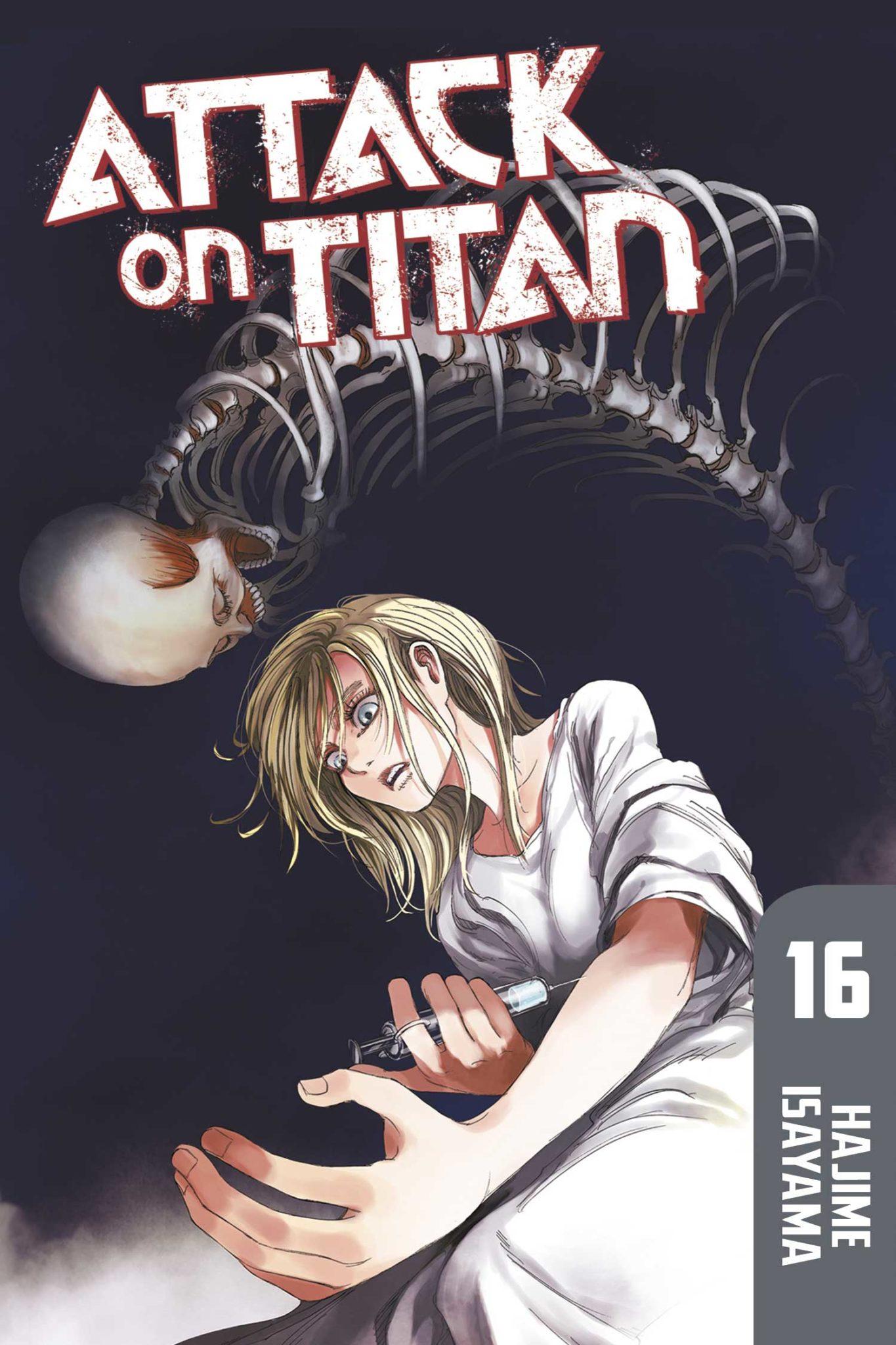 Attack on Titan, Volume 16 by Hajime Isayama