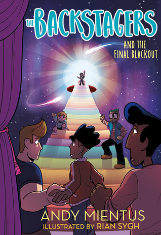 The Backstagers and the Final Blackout by Andy Mientus, Rian Sygh
