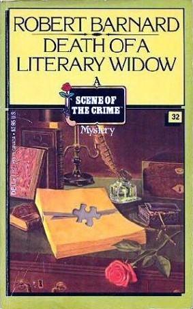 Death of a Literary Widow by Robert Barnard