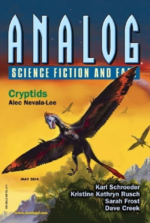 Analog Science Fiction and Fact, May 2014 by Ellis Morning, Dave Creek, Tom Greene, Aaron S. Gallagher, Alec Nevala-Lee, Trevor Quachri, Kristine Kathryn Rusch, Seth Frost