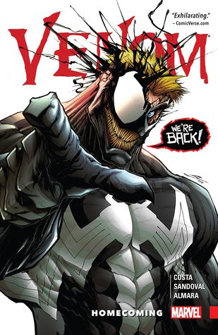 Venom, Vol. 1: Homecoming by Gerardo Sandoval, Mike Costa, Dono Sánchez Almara, Clayton Cowles
