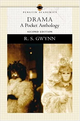Drama: A Pocket Anthology by R.S. Gwynn