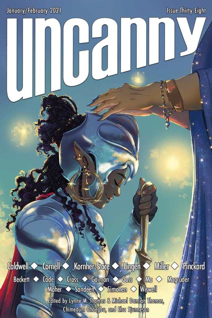 Uncanny Magazine Issue 38: January/February 2021 by Chimedum Ohaegbu, Elsa Sjunneson, Michael Damian Thomas, Lynne M. Thomas