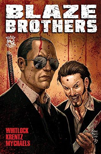 BLAZE BROTHERS Special Edition Graphic Novel by Vernon Whitlock III, Matthew Krentz