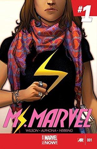 Ms. Marvel (2014-2015) #1 by Adrian Alphona, G. Willow Wilson, Ian Herring, Sara Pichelli