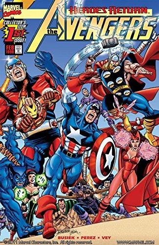 Avengers (1998-2004) #1 by George Pérez, Kurt Busiek, Al Vey