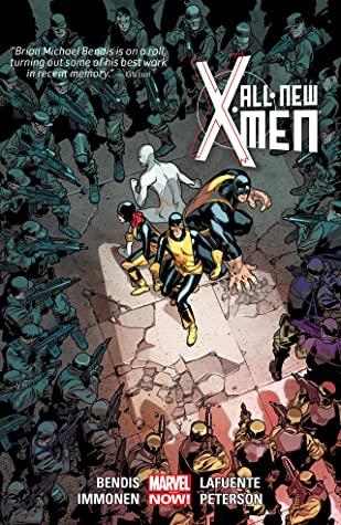 All-New X-Men: Deluxe Edition, Book 2 by Brian Michael Bendis, Cory Petit, David Lafuente, Mahmud Asrar, Stuart Immonen, Brandon Peterson, Marte Gracia, Brent Anderson, Wade Von Grawbadger