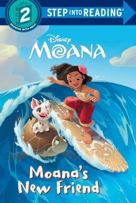 Moana's New Friend (Disney Moana) (Step into Reading) by Jennifer Liberts, Disney Storybook Artists