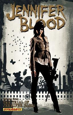 Jennifer Blood, Volume Four: The Trial of Jennifer Blood by Eman Casallos, Kewbar Baal, Tim Bradstreet, Al Ewing