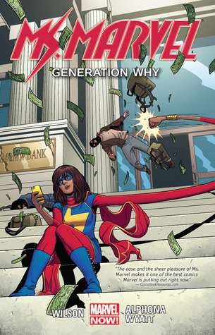 Ms. Marvel, Vol. 2: Generation Why by Adrian Alphona, G. Willow Wilson, Jacob Wyatt