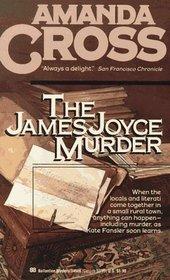 The James Joyce Murder by Carolyn G. Heilbrun, Amanda Cross
