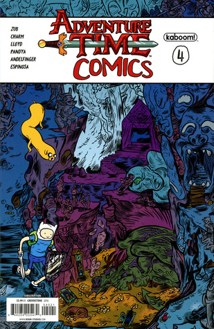 Adventure Time Comics #4 by Aatmaja Pandya, James Lloyd, Jim Zub, Derek Charm