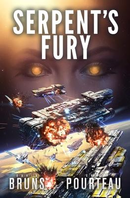 Serpent's Fury: A Space Opera Noir Technothriller by David Bruns, Chris Pourteau