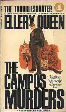 The Campus Murders by Gil Brewer, Ellery Queen
