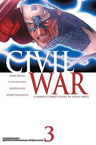 Civil War #3 by Steve McNiven, Mark Millar