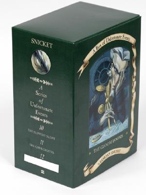 A Box of Unfortunate Events: The Gloom Looms (Books 10-12) by Lemony Snicket