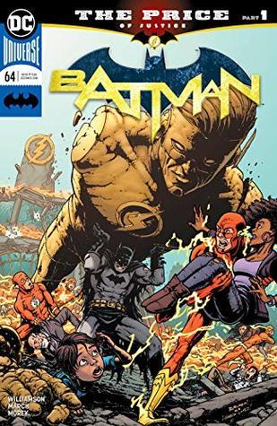Batman (2016-) #64 by Joshua Williamson, Tomeu Morey, Nathan Fairbairn, Chris Burnham, Guillem March