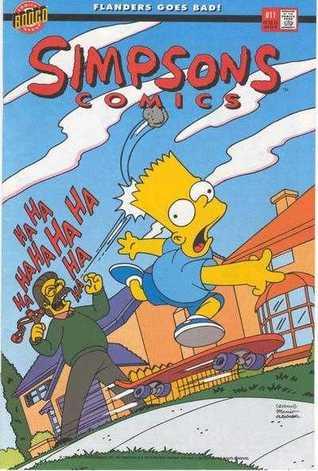 Simpsons Comics, #11 by Stephanie Gladden, Tim Harkins, Matt Groening, Tim Bavington, W.E. Hollyday, Bill Morrison, Gary Glasberg, Luis Escobar, Nathan Kane, Mike Sakamoto