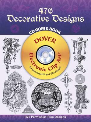 476 Decorative Designs [With CDROM] by John Leighton