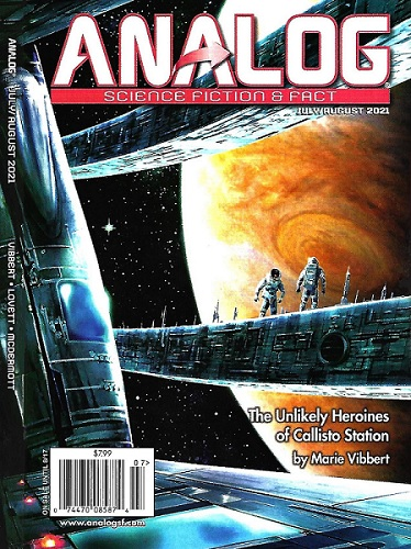 Analog Science Fiction and Fact, July/August 2021 by Trevor Quachri