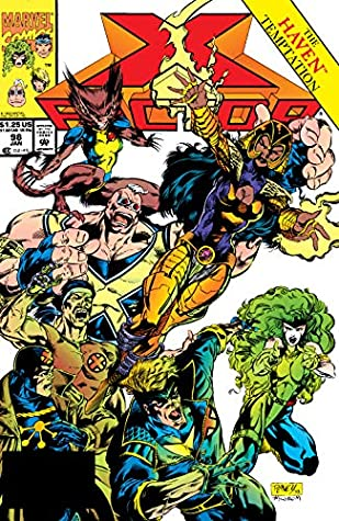 X-Factor (1986-1998) #98 by Greg Luzniak, Tom Raney, J.M. DeMatteis, Al Milgrom