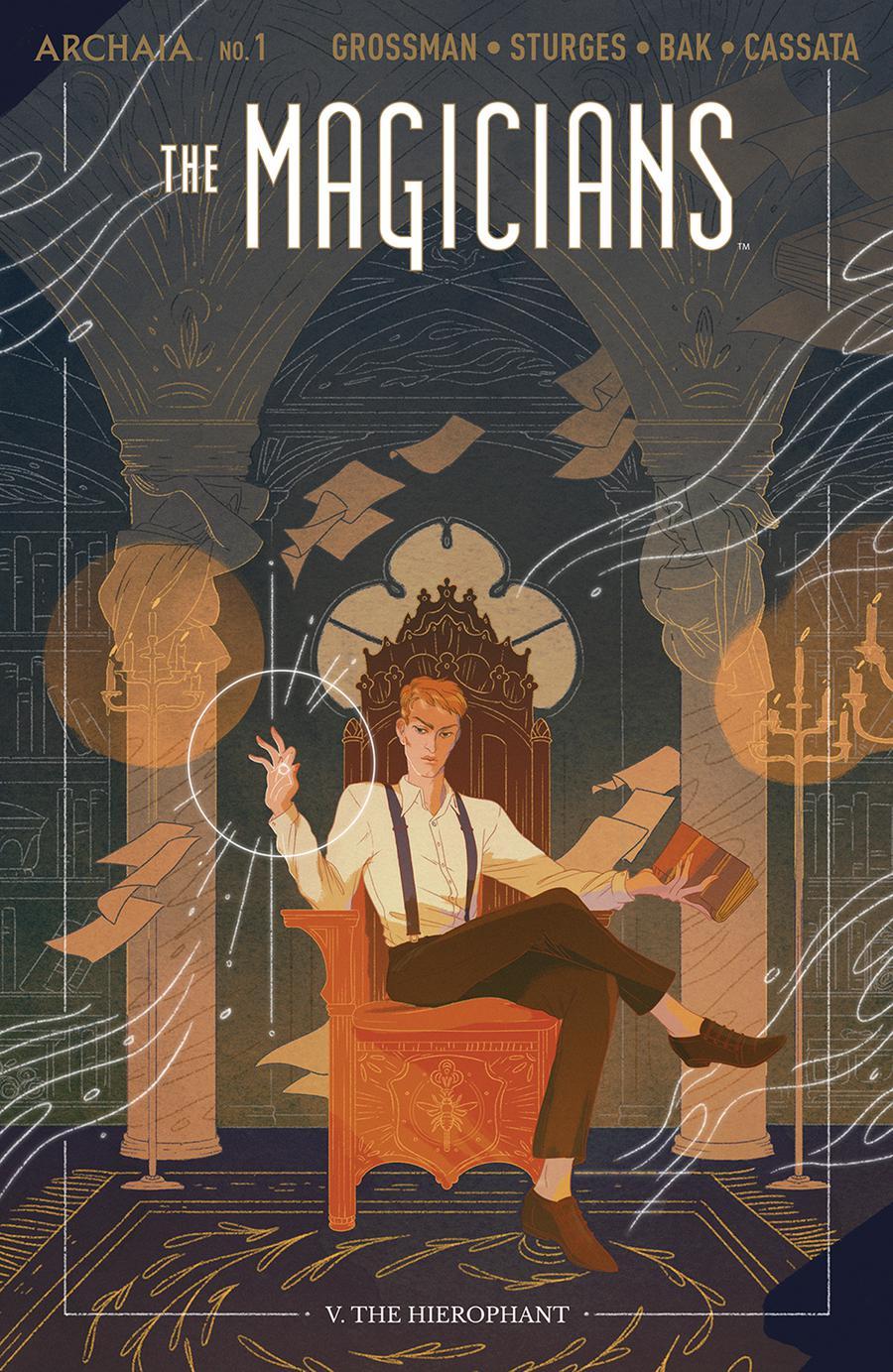 The Magicians #1 by Lev Grossman, Lilah Sturges
