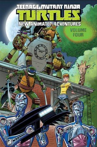 Teenage Mutant Ninja Turtles: New Animated Adventures Volume 4 by Landry Q. Walker, Chad Thomas, Darío Brizuela, Jackson Lanzing, Marcelo Ferreira, Bobby Curnow, David Server, Matt Manning