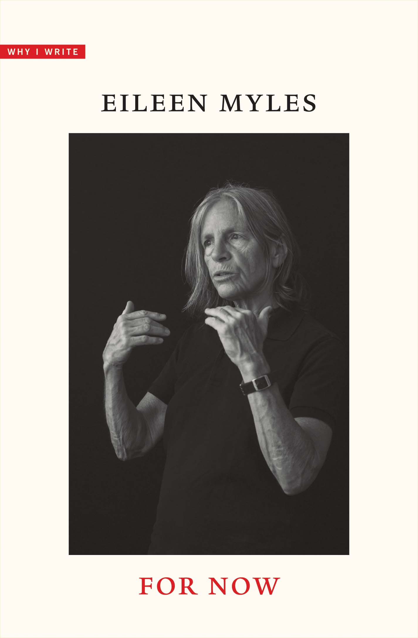 For Now by Eileen Myles