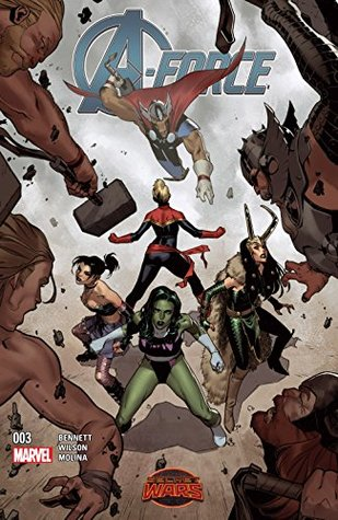 A-Force (2015) #3 by Marguerite Bennett, Jorge Molina, G. Willow Wilson