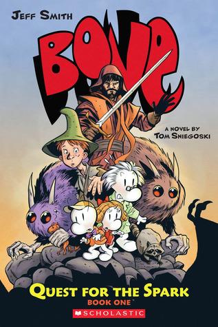 Bone: Quest for the Spark, Vol. 1 by Tom Sniegoski, Jeff Smith, Steve Hamaker, Thomas E. Sniegoski