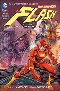 The Flash, Vol. 3: Gorilla Warfare by Marcio Takara, Ryan Winn, Marcus To, Brian Buccellato, Francis Manapul