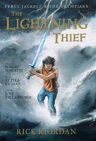 The Lightning Thief: The Graphic Novel by Robert Venditti, Rick Riordan