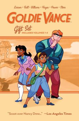 Goldie Vance Graphic Novel Gift Set by Hope Larson, Jackie Ball
