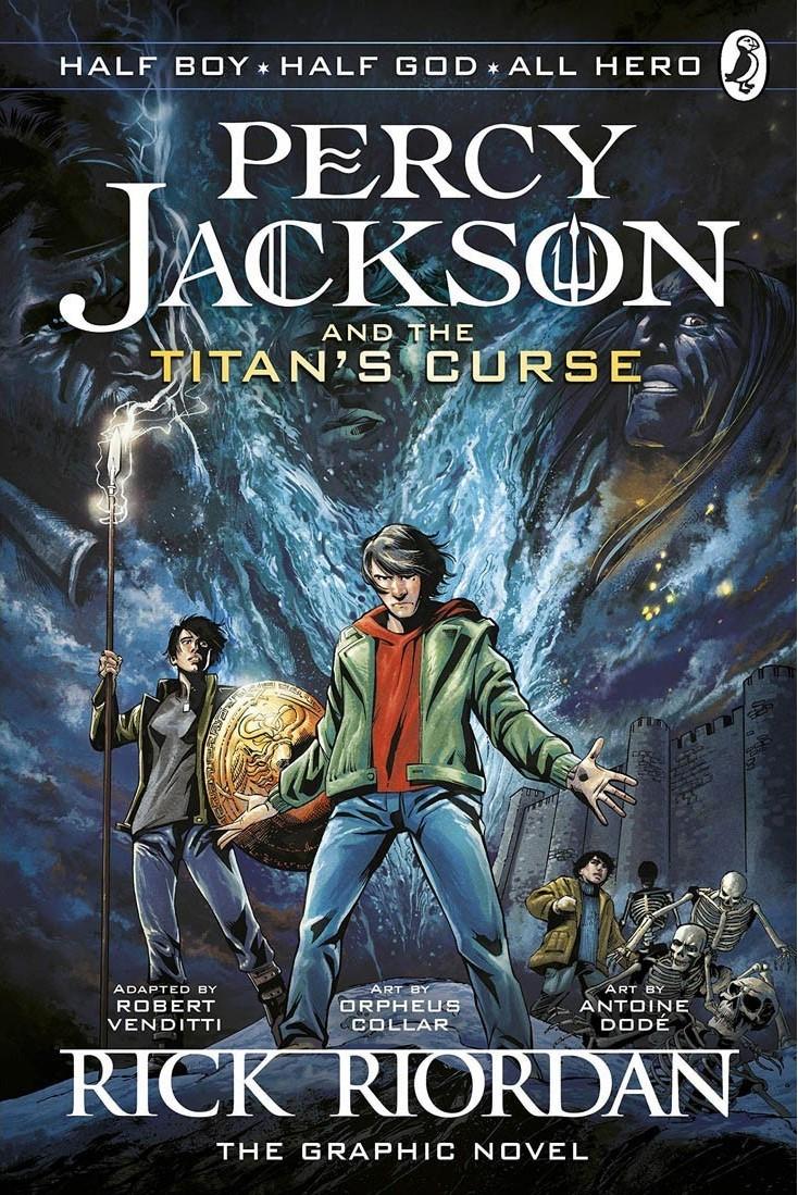 The Titan's Curse: The Graphic Novel by Robert Venditti, Rick Riordan