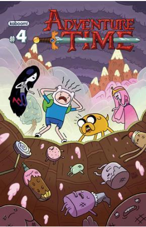 Adventure Time #4 by Braden Lamb, Ryan North, Shelli Paroline