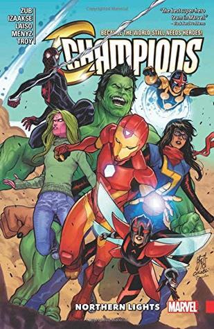 Champions, Volume 4: Northern Lights by Emilio Laiso, Sean Izaakse, Jim Zub
