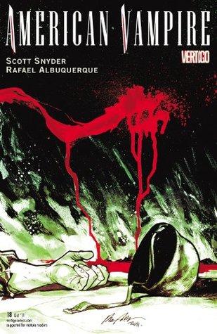 American Vampire #18 by Scott Snyder, Rafael Albuquerque