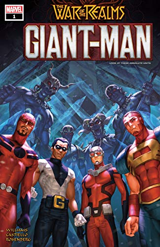 Giant-Man #1 by Leah Williams, Woo Cheol