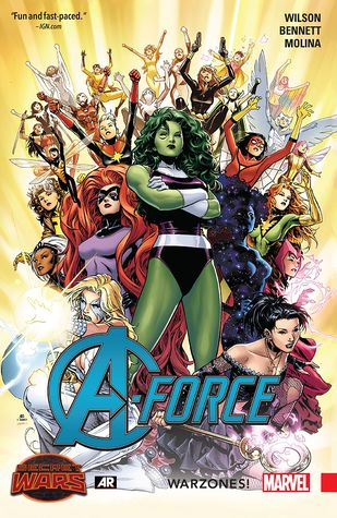 A-Force: Warzones! by Marguerite Bennett, Jorge Molina, G. Willow Wilson