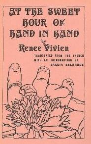 At the sweet hour of hand in hand by Renée Vivien