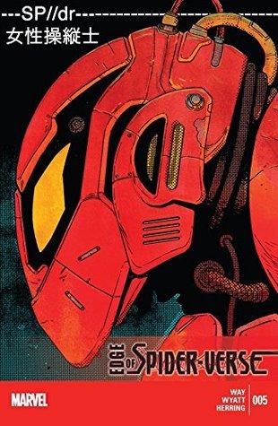 Edge of Spider-Verse #5 by Gerard Way, Jake Wyatt