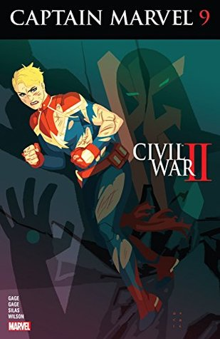Captain Marvel #9 by Christos Gage, Kris Anka, Ruth Gage