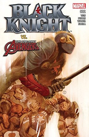 Black Knight #2 by Luca Pizzari, Frank Tieri, Julian Tedesco