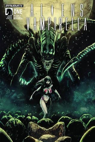 Aliens vs. Vampirella #1 by Javier Garcia-Miranda, Corinna Sara Bechko