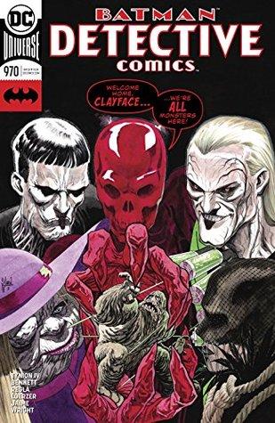 Detective Comics (2016-) #970 by Sal Regla, Joe Bennett, Jason Wright, James Tynion IV, Guillem March