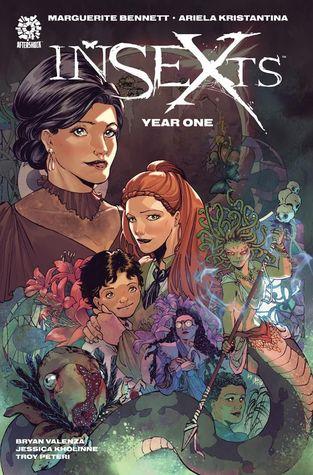InSEXts Year One Vol. 1 by Jessica Kholinne, Marguerite Bennett, Troy Peteri, Bryan Valenza, Ariela Kristantina