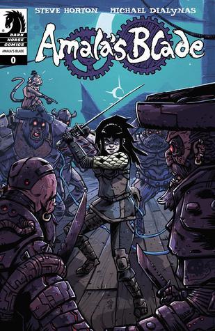 Amala's Blade #0 by Michael Dialynas, Steve Horton