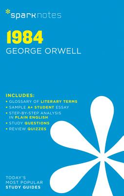 1984 Sparknotes Literature Guide, Volume 11 by George Orwell, Sparknotes, Sparknotes