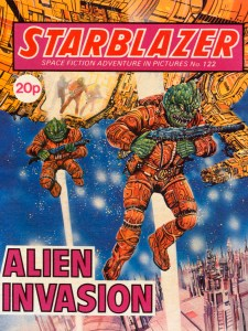 Alien Invasion (Starblazer, #122) by Keith Robson, Enrique Alcatena, W. Reed